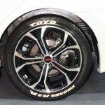 Toyota Corolla Altis TRD Sportivo wheel at Bangkok Motor Show 2014