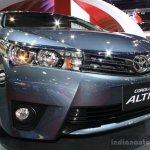 Toyota Corolla Altis grille at 2014 Bangkok Motor Show