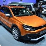 VW CrossPolo front three quarter - Geneva Live