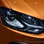 VW CrossPolo headlamp - Geneva Live