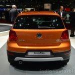 VW CrossPolo rear - Geneva Live