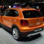 VW CrossPolo rear three quarter - Geneva Live