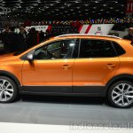 VW CrossPolo side - Geneva Live