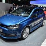 VW Polo BlueGT front three quarter - Geneva Live
