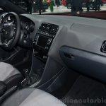 VW Polo R-Line dashboard passenger side - Geneva Live
