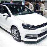 VW Polo R-Line front three quarter - Geneva Live