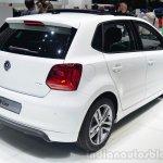 VW Polo R-Line rear three quarter - Geneva Live