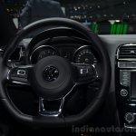 VW Polo R-Line steering wheel - Geneva Live