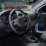 VW Polo TDI BlueMotion dashboard - Geneva Live