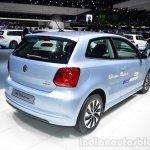 VW Polo TDI BlueMotion rear three quarter - Geneva Live
