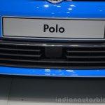 VW Polo TSI BlueMotion grille - Geneva Live