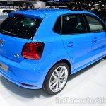 VW Polo TSI BlueMotion rear three quarter - Geneva Live