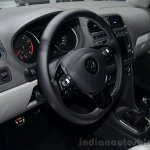 VW Polo TSI BlueMotion steering - Geneva Live