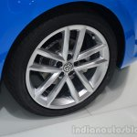 VW Polo TSI BlueMotion wheel - Geneva Live