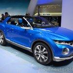 VW T-ROC Concept front three quarters at Geneva Motor Show