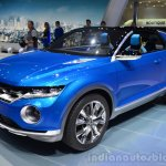 VW T-ROC Concept front three quarters right at Geneva Motor Show