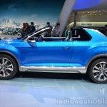 VW T-ROC Concept profile at Geneva Motor Show