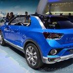 VW T-ROC Concept rear three quarters angle at Geneva Motor Show