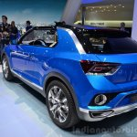 VW T-ROC Concept rear three quarters at Geneva Motor Show