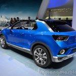 VW T-ROC Concept rear three quarters left at Geneva Motor Show
