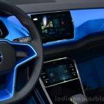 VW T-ROC SUV concept center console Geneva live