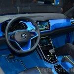 VW T-ROC SUV concept dashboard Geneva live