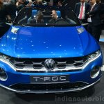 VW T-ROC SUV concept frontGeneva live