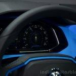 VW T-ROC SUV concept instruments Geneva live
