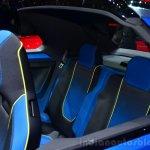 VW T-ROC SUV concept rear seat Geneva live