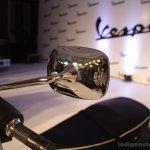 Vespa S Matte Black rear view mirror