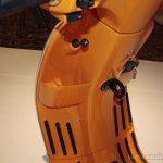 Vespa S Orange storage