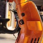 Vespa S Orange carry hook