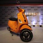 Vespa S Orange front quarter right