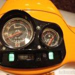 Vespa S Orange speedometer