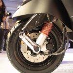 Vespa S front suspension