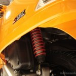Vespa S rear suspension
