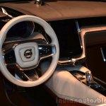 Volvo Concept Estate dashboard view at Geneva Motor Show