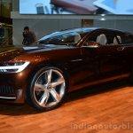Volvo Concept Estate front three quarter left profile - Geneva Live