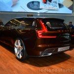 Volvo Concept Estate rear three quarter left profile - Geneva Live