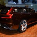 Volvo Concept Estate rear three quarter right profile - Geneva Live