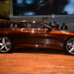Volvo Concept Estate side profile - Geneva Live