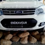 2014 Ford Endeavour front fascia - Live image