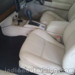2014 Ford Endeavour front leather seats - Live image