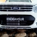 2014 Ford Endeavour grille - Live image