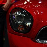 2014 MINI Paceman headlamp at Auto China 2014