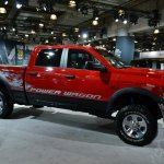 2014 Ram Power Wagon at 2014 NY Auto Show front three quarter