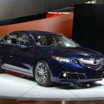 2015 Acura TLX 2014 New York Auto Show front three quarter