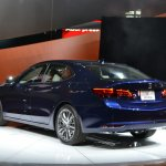2015 Acura TLX 2014 New York Auto Show rear three quarter