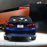 2015 Acura TLX 2014 New York Auto Show rear