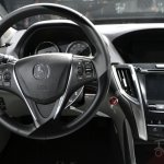 2015 Acura TLX 2014 New York Auto Show steering